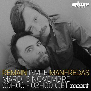 Remain invite Manfredas - 3 Novembre 2015