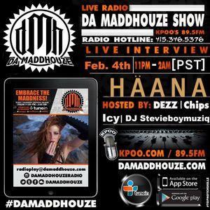 HӒANA calls into Da Maddhouze on KPOO 89.5 FM