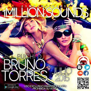 1Million Sounds - Julio 2015 (Bruno Torres)