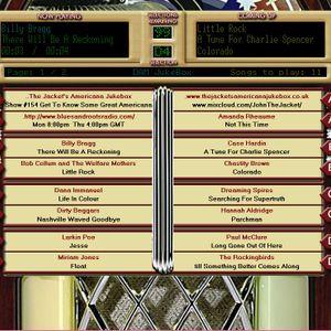 The Jacket's Americana Jukebox - Show #154