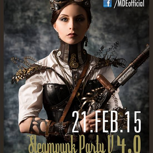 Steampunk Party V. 4 / 2015 Dj. shax