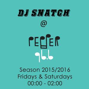 DJ SNATCH @PEPPER 96.6 (19.09.2015)