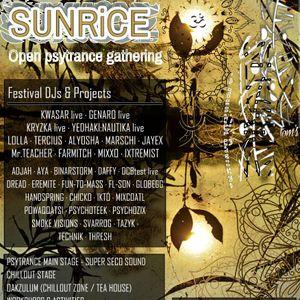 Psychoteek - Sunrise at Sunrice 2017