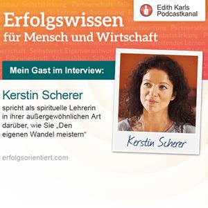 Im Gespräch mit Kerstin Scherer