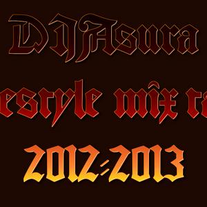 DJ Asura Free style live mix 2012-2013