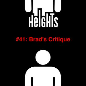 Brad's Critique