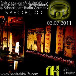 Nelson Katzer - Basement Sound Generations 03.07.2011 (155BPM)