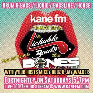 KaneFM - Lickable Beats Show with Jay Walker - Jungle Special - Bones (Yardrock) interview & mix