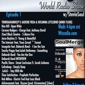 Soul Merge Radio Show hosted by Stevie Soul wsg: Deborah Bond pt 2