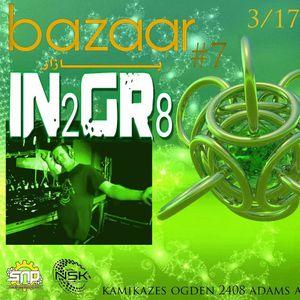 IN2GR8 live set 3-17-17 @ Bazaar Ogden Utah