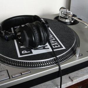 Plain old vinyl-picking & mixing...