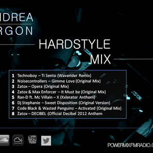 Andrea Argon - An Hardstyle Mix - Mix.in.consolle by ANDREA ARGON
