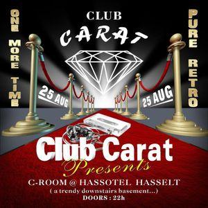 dj Chiq @ Club Carat - Pure Retro 25-08-2012