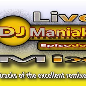 DJ Maniak Live Mix episode 8 (21.11.2014)