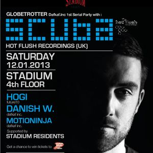 Recorded live @ Stadium club main room (Globetrotter party with Scuba)
