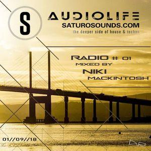 Audiolife Radio #01 on Saturo Sounds - Niki Mackintosh