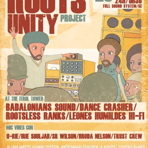 02 - Rootsless, Broda Nelson, Ras Maxx, Roaring Lion - Roots Unity Project @ Sala Upload (25-05-13)