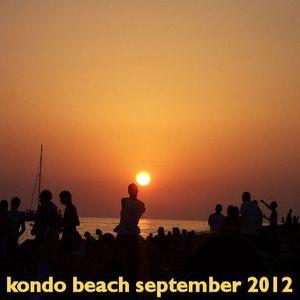 Kondo Beach September 2012