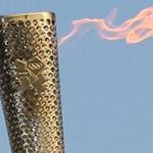 Olympic Torchbearer Bernie Hollywood