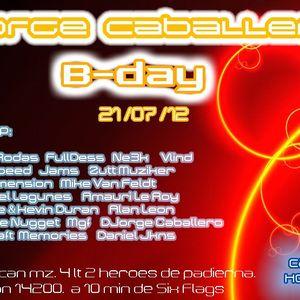 Set Jorge Caballero's B-Day
