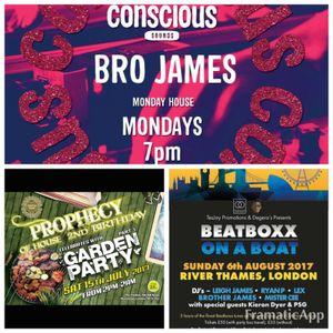 Brother James - Monday Mixdown Show - 10.07.2017