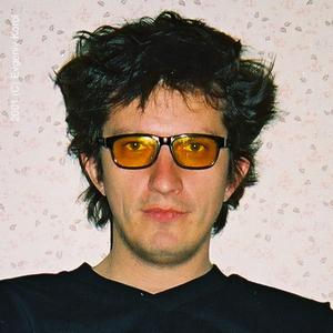 """Кузьма в студії радіо """"Промінь"""", ведучій Олег Горський, 2001 рік"""