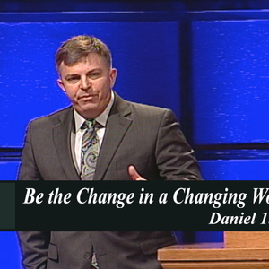 Be the Change in a Changing World (Audio)