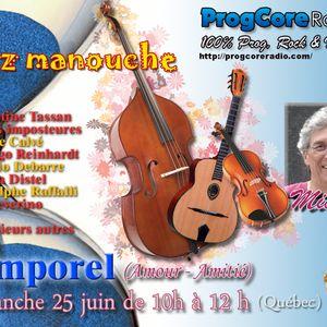 TEMPOREL - (25 juin 2017 - Jazz manouche)