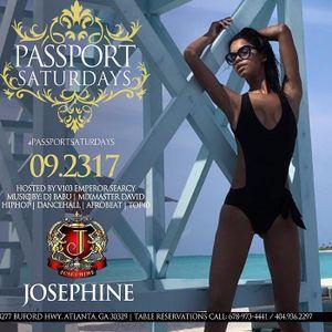 Passport Saturdays Josephine Lounge Sept 23