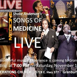 MEDICINE FOR SOMEONE ELSE CONCERT with Shake Anderson
