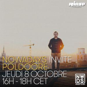 Nowadays Records invite Poldoore - 08 Octobre 2015