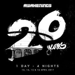 Kevin Saunderson B2B Derrick May - live at Awakenings 20 years (Gashouder, Amsterdam) - 13-Apr-2017