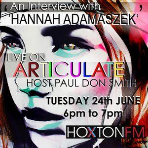 ARTICULATE - HANNAH ADAMASZEK
