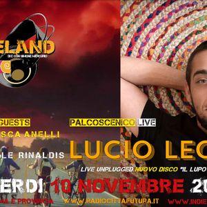 Indieland S02E08 Lucio Leoni #NewDisc. Guests: P.Rinaldis de Il Fatto Q. & F.Anelli di  Seriangolo