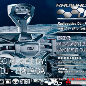 RADIOACTIVO DJ S10-2018 BY CARLOS VILLANUEVA