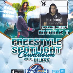 Freestyle Spotlight Countdown With Dj Lexx Special Guest Diddle D Ep