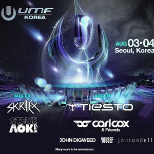 Carl Cox – Live @ UMF Korea (Seoul) – 04-08-2012