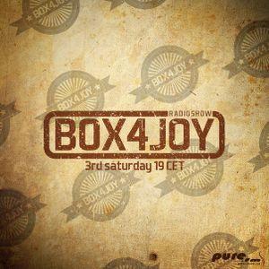 BOX4JOY Radioshow (004) with Joy Box on Pure FM