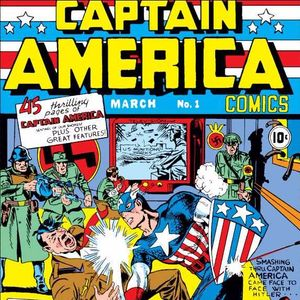 52 - Captain America Comics #1 -  The First Appearance of Captain America and Bucky