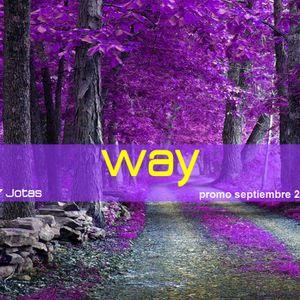 Way - 7Jotas - Septiembre 2012