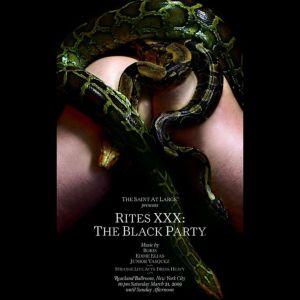 Junior Vasquez - Live @ Black Party: Rites XXX (3-21-09 @ Roseland Ballroom - Part 1)
