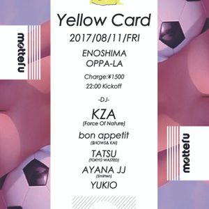 YellowCard @oppala 8_11 moning set