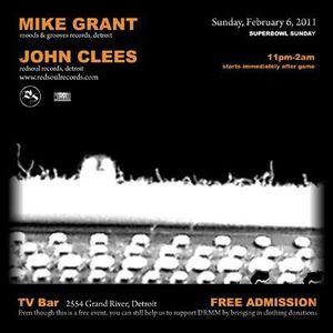 Mike Grant - Live Dj Set - @ TV Bar : [HOME] : Donation Drive : 2011