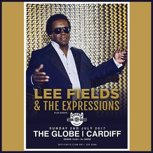Penarth Soul Club Support Set For Lee Fields & The Expressions, The Globe, Cardiff 2-7-17