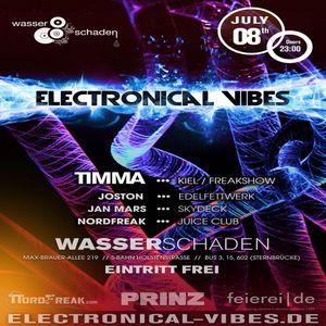 2016.07.08 - electronical vibes club with Timma, Joston, Jan Mars, NordFreak