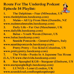 Route For The Underdog Podcast - Episode 54