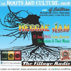 The Roots & Culture Show: ReggaeJam Festival Special