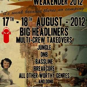DISOWNED - AUDIOBEAN WEAKENDER SET - 17th / 18th Aug 2012
