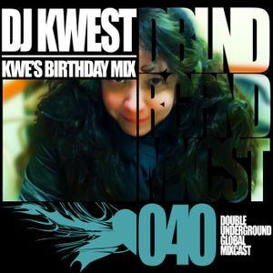 Doubleunderground Global Mixcast #040 - DJ Kwest