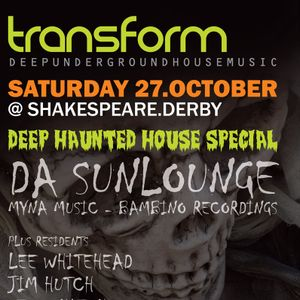 Da Sunlounge & Lee Whitehead live @ Transform at Shakespeare, Derby